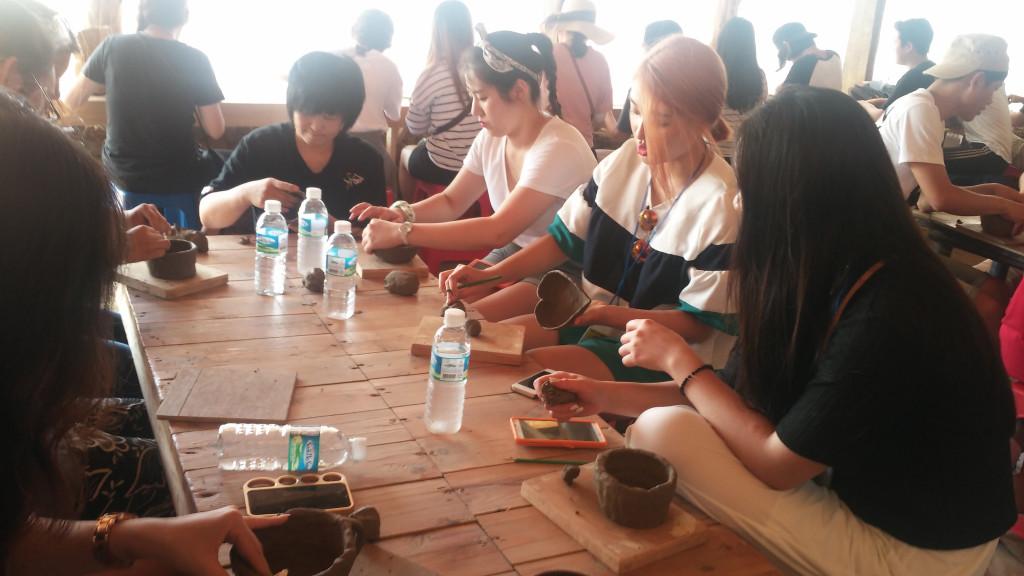 第29回夏季郷土学陶器作り体験