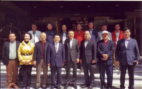 第51回済州道民体育大会在外道民選手団