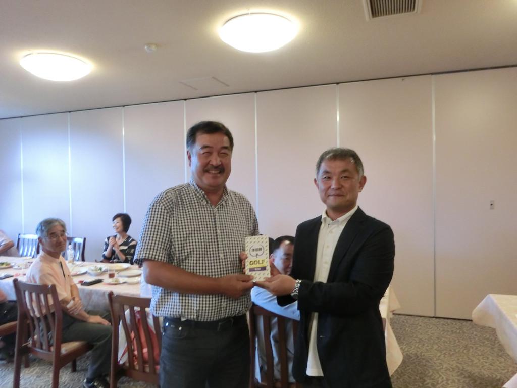 138回済友会-準優勝-高尚弘顧問