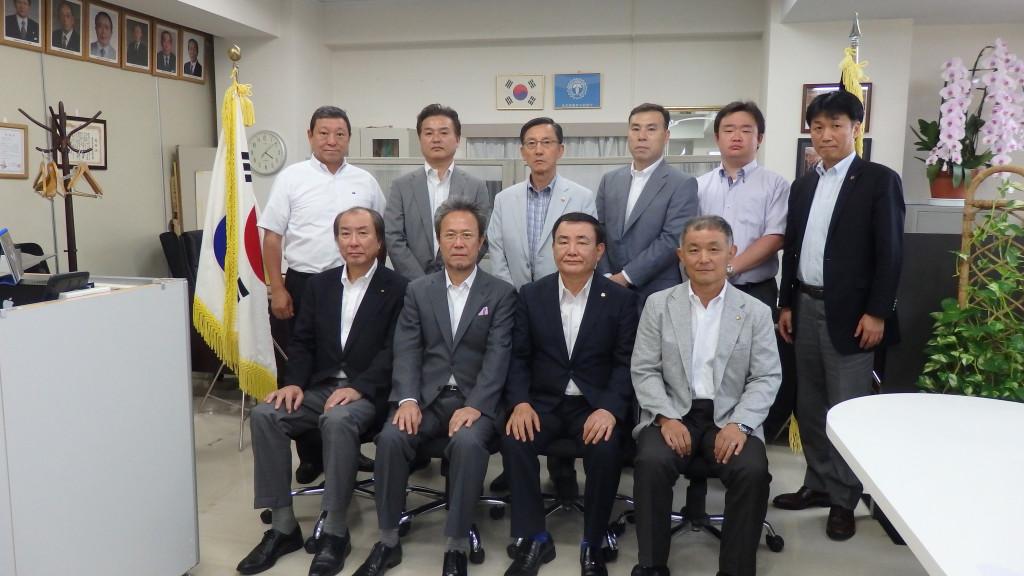 東京韓国商工会議所表敬訪問